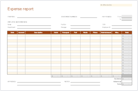 Expense Report Templates Fyle