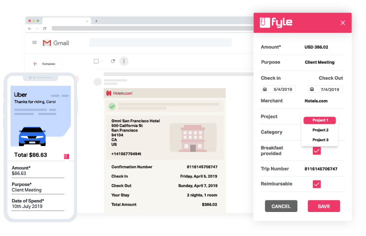 Receipt management software for business | Fyle